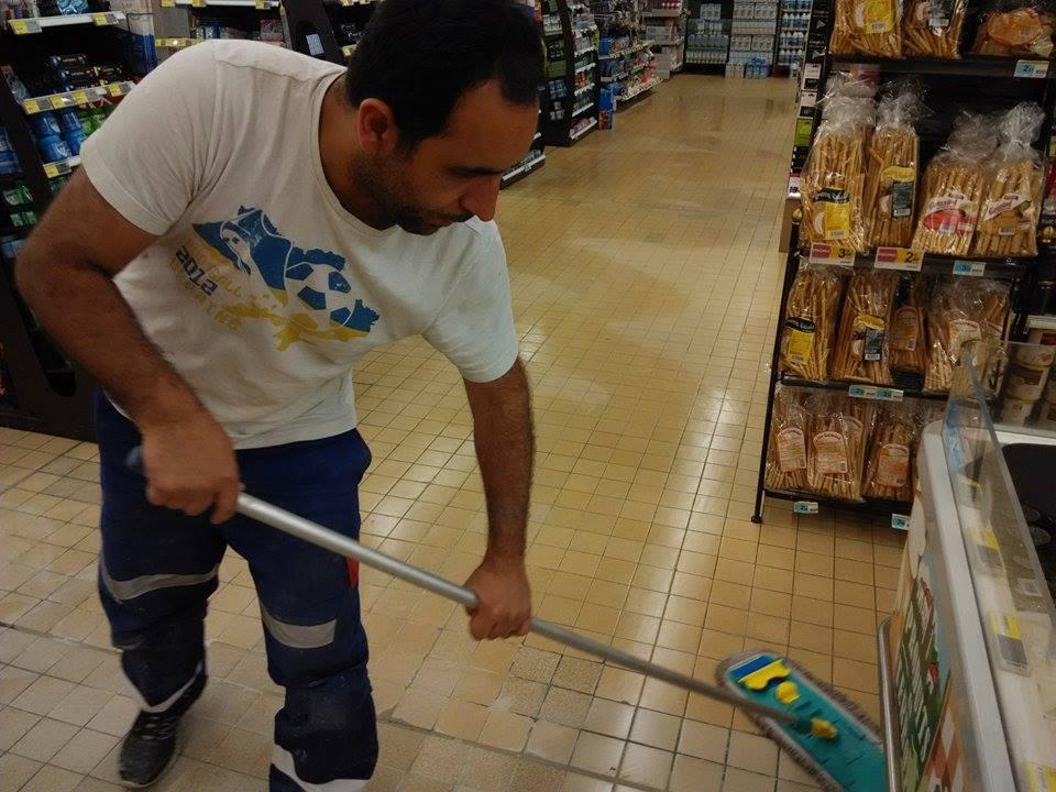 Nettoyage du lieu de travail en fin de journée