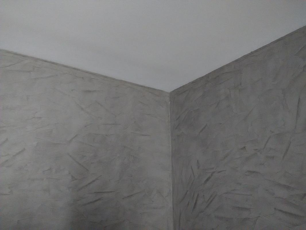 Stucco et peinture